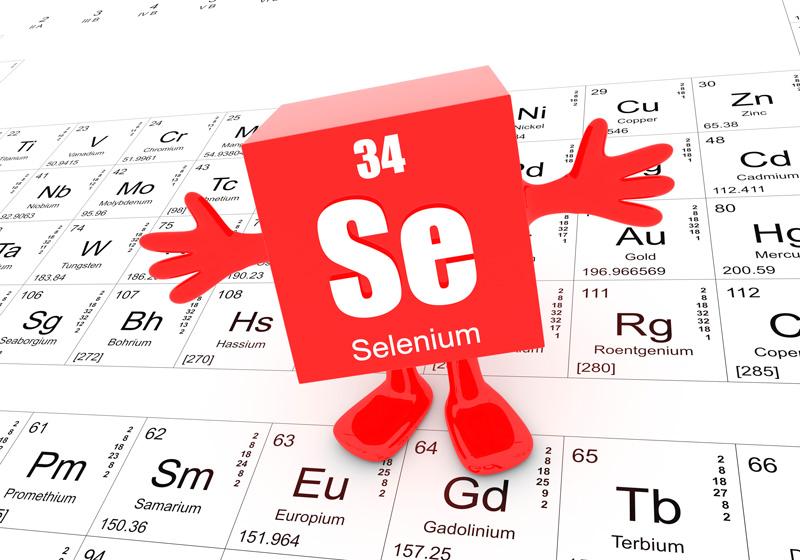 microélément de sélénium